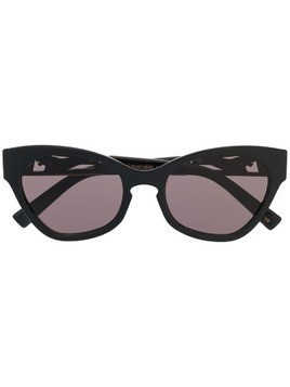 Le Specs oversized cat eye sunglasses - Black