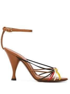 L'Autre Chose strappy leather sandals - Brown