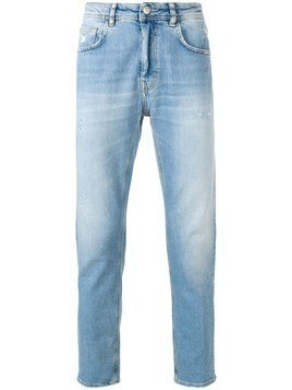 Haikure distressed slim-fit jeans - Blue