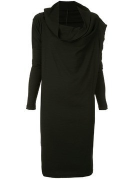 Masnada funnel neck dress - Black