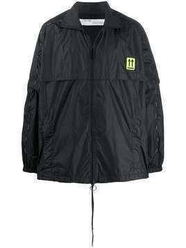 Off-White River Trail zipped jacket - Black
