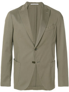 Eleventy tailored slim-fit jacket - Green