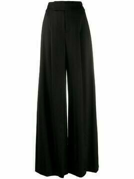 Alice+Olivia high-waisted palazzo trousers - Black