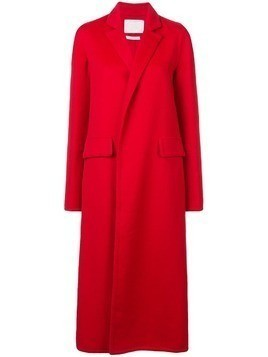 Oscar de la Renta long sleeve coat - Red