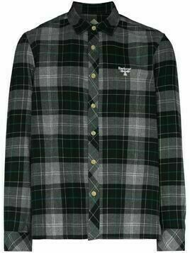 Barbour Fletcher tartan check print shirt - Grey
