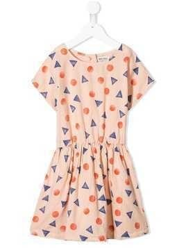 Bobo Choses geometric print dress - Pink