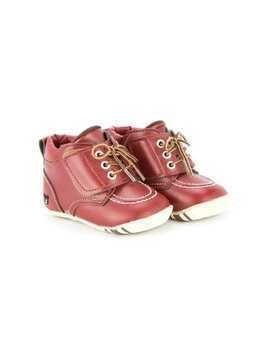 Miki House lace-up boot sneakers - Red