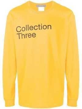 Geo collection three T-shirt - Yellow