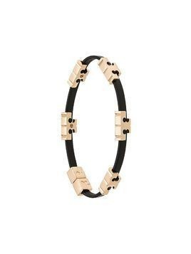 Tory Burch logo-plaque bangle - Black