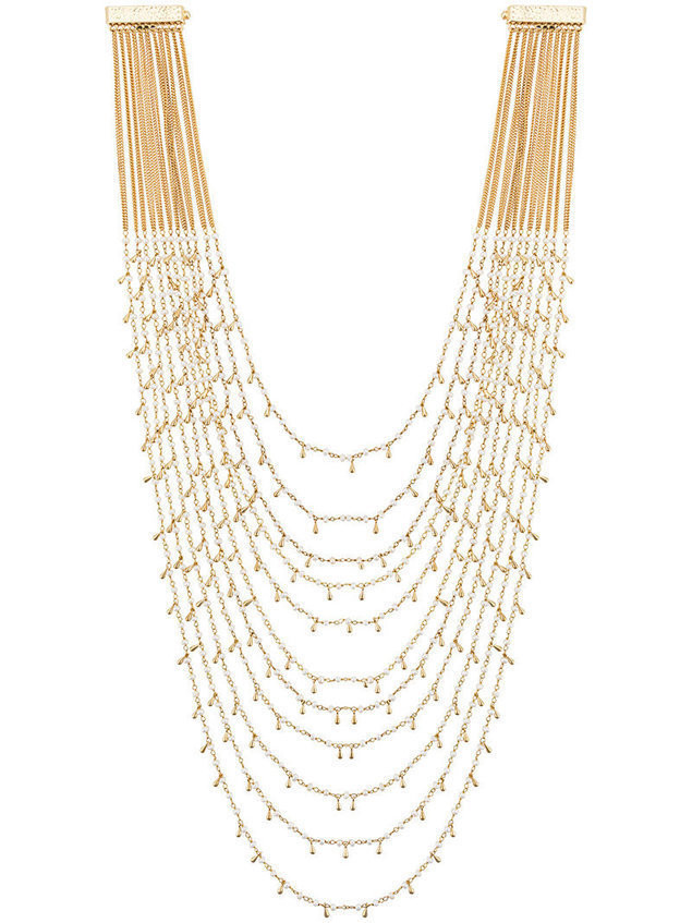 Rosantica layered necklace - Metallic