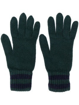 Pringle Of Scotland knitted gloves - Green