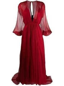 Maria Lucia Hohan Jazlyn dress - Red