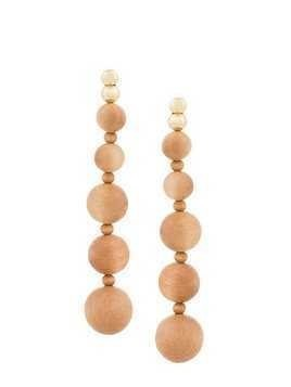 Cult Gaia Natural Kai earrings - Brown