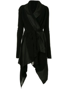 Masnada asymmetric cashmere dress - Black