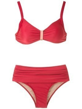 Lygia & Nanny Anne plain bikini set - Red