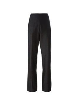 Romeo Gigli Pre-Owned high waisted trousers - Black