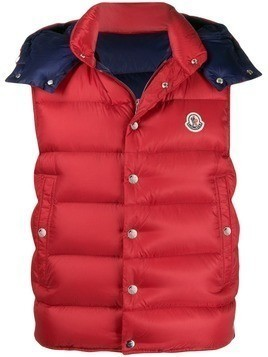 Moncler Billecart padded gilet - Red