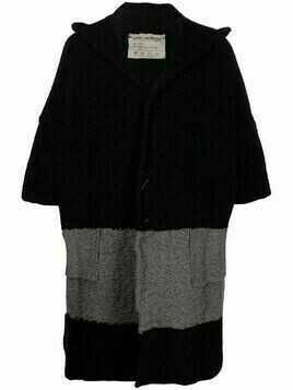 Daniel Andresen 66-stripe cardigan - Black
