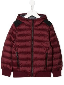 Ciesse Piumini Junior hooded padded coat - Red