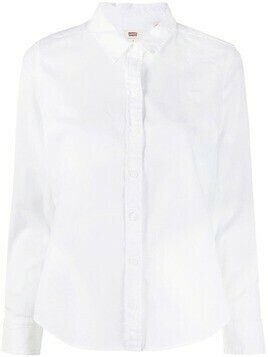 Levi's pointed collar cotton shirt - White