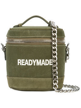 Readymade - vanity shoulder bag - unisex - Suede/Canvas - One Size - Green