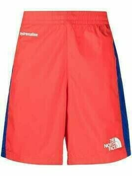 The North Face logo-print shorts - Red