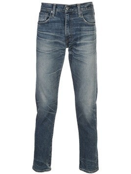 Levi's: Made & Crafted slim tapered jeans - Blue