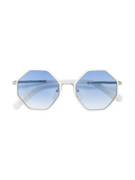 Chloé Kids octagonal sunglasses - White