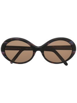Christian Roth printed frame sunglasses - Purple