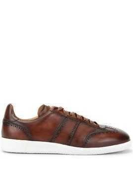 Magnanni brogue sneakers - Brown