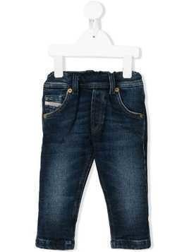 Diesel Kids stonewashed jeans - Blue