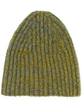 Federico Curradi knitted beanie hat - Green