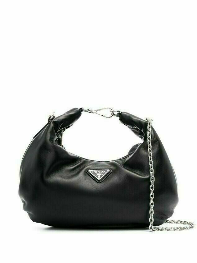 Prada Re-Edition 2006 leather shoulder bag - Black