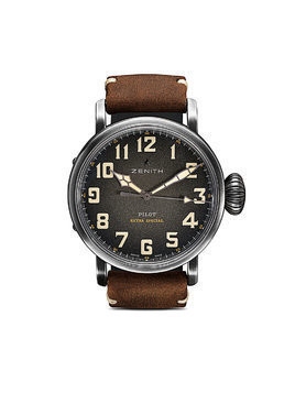 Zenith Pilot Type 20 Extra Special Ton-Up 45mm - C801 Slate Grey B Brown Oily
