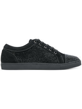 Louis Leeman embellished sneakers - Black