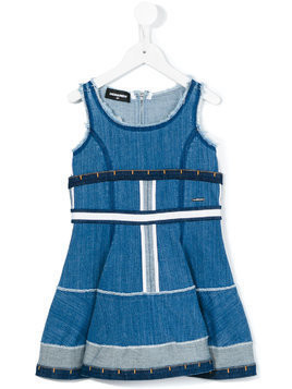 Dsquared2 Kids sleeveless denim dress - Blue