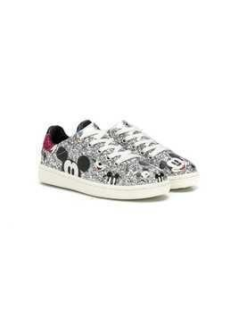 Moa Kids Mickey Mouse sneakers - Silver