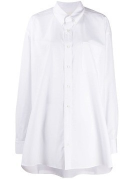 Maison Margiela oversized shirt - White