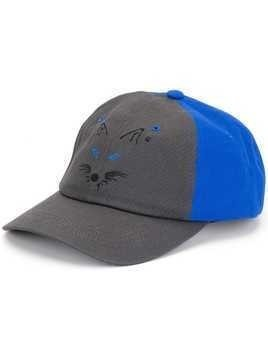 Ader Error Fox baseball cap - Blue