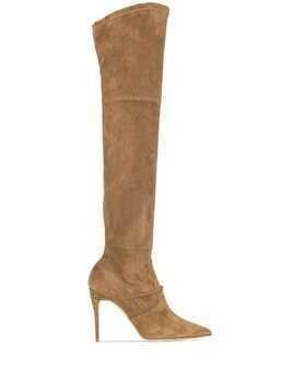 Jennifer Chamandi Alessandro over-the-knee boots - Brown