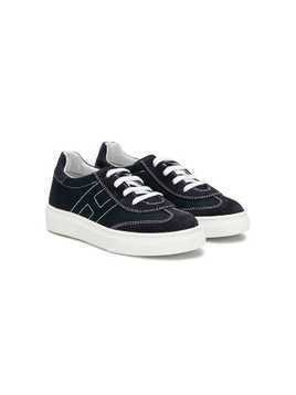 Hogan Kids lace-up sneakers - Blue