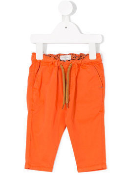Paul Smith Junior drawstring waist jeans - Orange