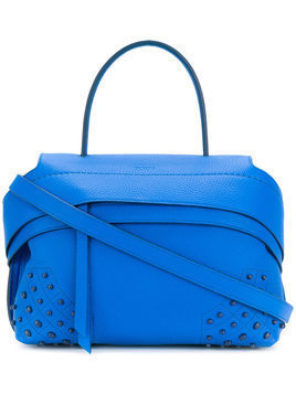 Tod's - Wave medium tote - Damen - Leather - One Size - Blue