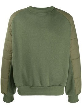 David Catalan panelled sweatshirt - Green