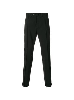 Diesel Black Gold turn-up hem tailored trousers