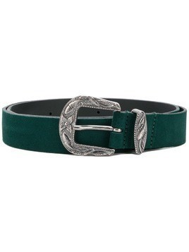 Diesel Western-buckle belt - Green