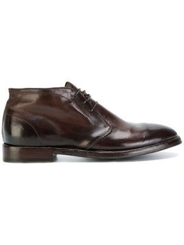 Alberto Fasciani polished lace-up shoes - Brown