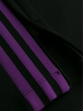 Adidas silk track pants - Black