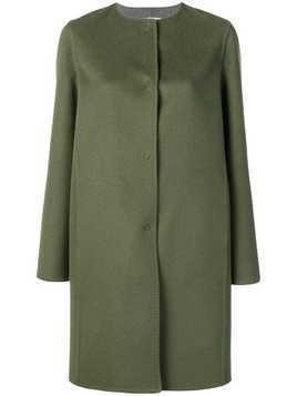 Manzoni 24 single-breasted coat - Green