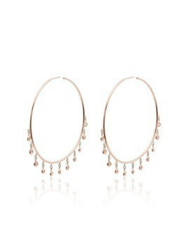 Jacquie Aiche Shaker hoop 14kt rose gold earrings